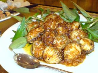 Món ăn được chế biến từ sò huyết
