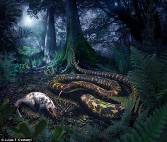 Phát hiện loài rắn cổ đại hai chân có khả năng tàng hình