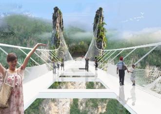Trung Quốc mở cửa cầu sàn kính dài nhất thế giới