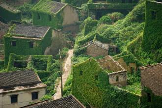 'Lạnh' người khi đến ngôi làng chài bị bỏ hoang ở Trung Quốc