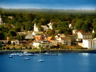 Maine, thanh bình và quyến rũ qua từng bức ảnh
