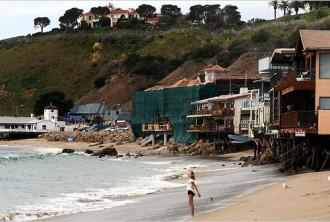 Bãi biển 'tỷ phú' ở California