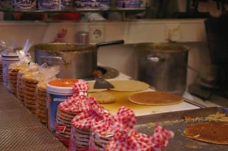 Bánh pancake và khoai tây nghiền kiểu Hà Lan