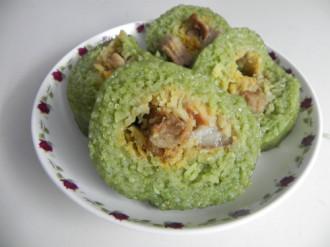 Bánh tét Trà Cuôn ở vùng đất Trà Vinh