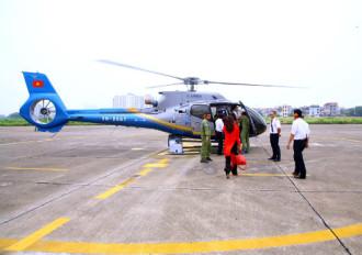 Du khách có thể khám phá miền Bắc bằng trực thăng