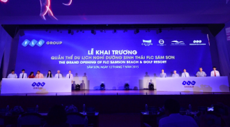 Khai trương quần thể du lịch nghỉ dưỡng sinh thái FLC Sầm Sơn