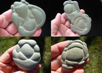 Những hòn đá tiên trên sông ở Canada
