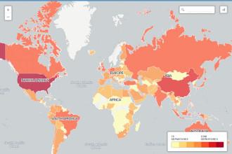 Bảng xếp hạng 10 nước có nhiều chuyến bay nhất thế giới