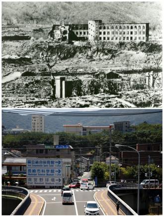 Loạt ảnh Hiroshima, Nagashaki sau 70 năm thảm họa bom nguyên tử