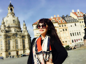 Mùa hè châu Âu của 'Thị Màu' Ngọc Khuê
