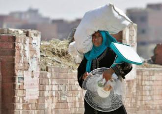 Nắng nóng chết người tại Ai Cập