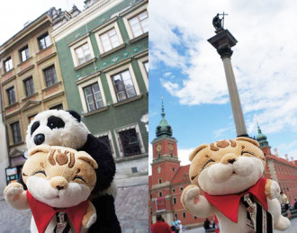 Châu Âu bắt chước Nhật đưa thú bông đi du lịch