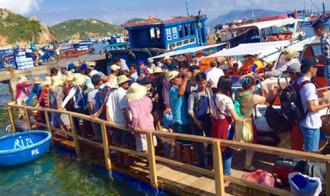 Đảo Bình Ba không được phát triển du lịch
