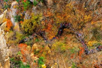 Du lịch Hàn Quốc: Ngắm bức tranh thiên nhiên hùng vĩ Seorak