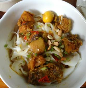 Món mì Quảng đúng vị ở Hà Nội