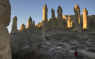 'Rừng' dương vật ở Cappadocia