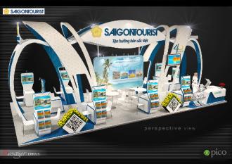 Saigontourist ưu đãi và tặng quà 3 tỷ đồng tại ITE 2015