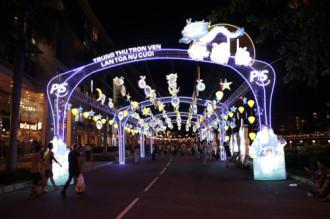 Trung thu lung linh ở phố lồng đèn Sài Gòn