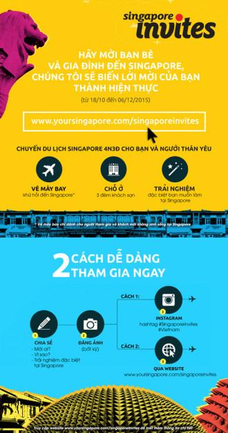 Cơ hội du lịch Singapore miễn phí