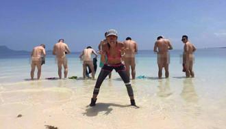Du khách Trung Quốc bị bắt vì phát tán ảnh khỏa thân