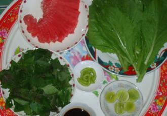 Gù bò tái chanh - món ngon đãi khách ở biển Quảng Ngãi