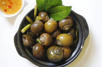 Hương đồng quê trong món cà ri ốc bươu