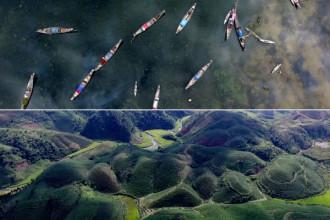 Ngỡ ngàng cảnh đẹp Việt Nam từ trên cao