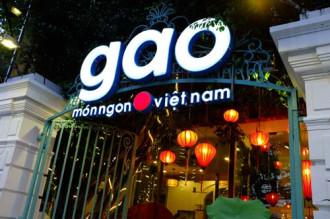 Những món ăn đậm hương vị Việt tại nhà hàng Gạo