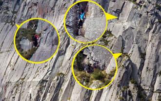 Bức ảnh đánh đố thị giác trên dãy Alps