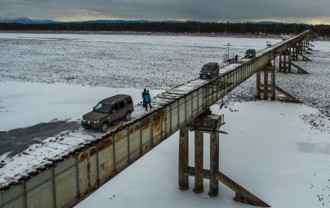 Cây cầu bấp bênh nhất thế giới ở Nga