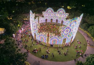 Gardens by the Bay biến thành khu vườn đồ chơi Giáng sinh