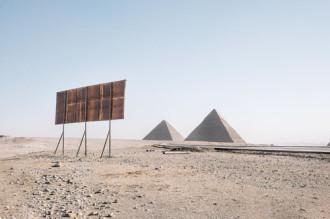 Kim tự tháp Ai Cập vắng bóng du khách