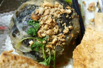 Lươn đùm và bò nướng Lạc Cảnh ở biển Nha Trang