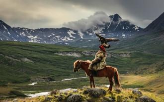 Nghệ thuật đi săn cùng đại bàng của người Mông Cổ
