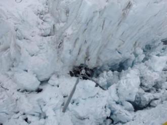 Trực thăng du lịch rơi xuống sông băng