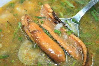 Cháo lươn và bánh bèo lá hút khách ở xứ Nghệ