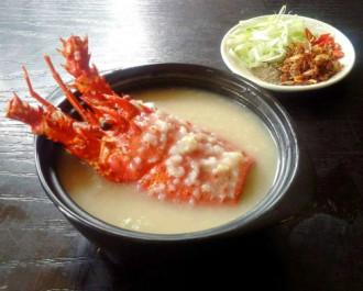 Cháo tôm hùm, gỏi cá mai ở Khánh Hòa