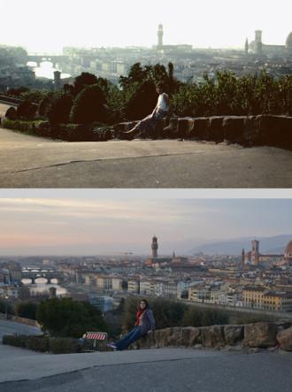 Chuyến du lịch châu Âu 'nhái' mẹ 30 năm trước