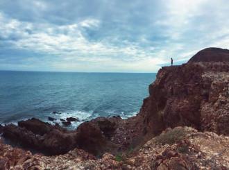 Cung đường ven biển Mũi Dinh - Bãi Tràng đầu năm