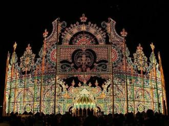 Lễ hội ánh sáng lung linh ở Nhật Bản