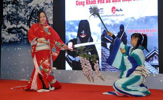 Ninja Nhật Bản biểu diễn tại Hà Nội