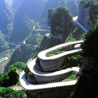 Thiên Môn Sơn - cung đường hiểm trở dẫn tới cổng trời