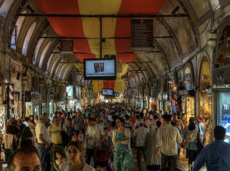 Vụ trộm chấn động khu chợ lâu đời nhất Istanbul