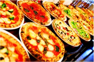 12 loại pizza ở nhà hàng Pizzeria Bar Napoli's
