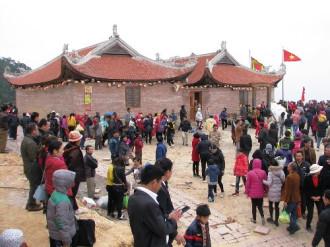 Lần đầu tiên Quảng Ninh khai hội xuân Ngọa Vân