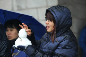 Lào Cai tăng thu mạnh từ du lịch nhờ tuyết rơi