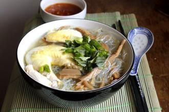 Miến măng gà đổi vị cho bữa cơm truyền thống