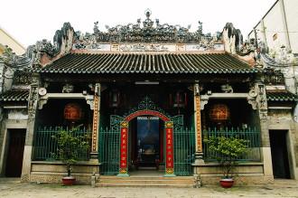 Ngôi chùa cổ 250 năm của người gốc Hoa ở Sài Gòn