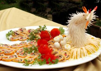Nhiều món ăn hấp dẫn trong Liên hoan ẩm thực quốc tế tại Huế