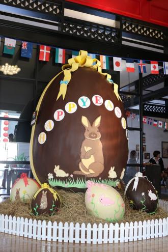Quả trứng phục sinh chocolate lớn nhất Việt Nam